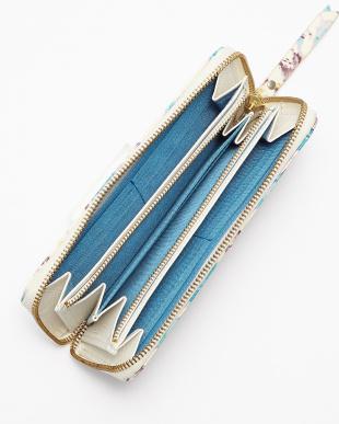 BLUE 長財布(ラウンドファスナー)見る