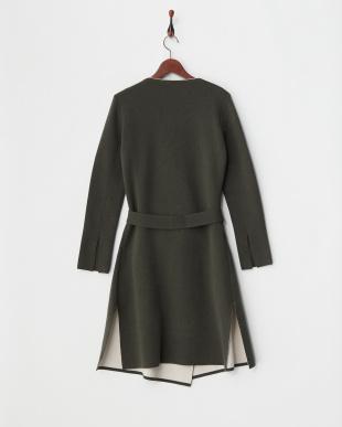 green pattern CORRENTE Knitted outerwear見る