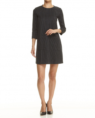 dark grey pattern CORNICE Jersey Dressを見る