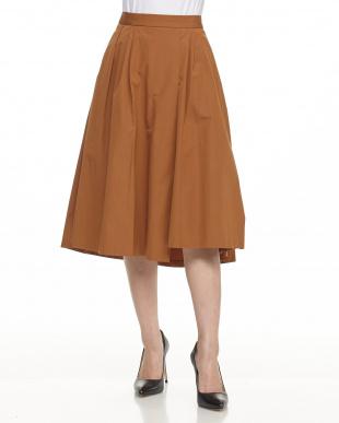 CAMEL ランダムタックバックテールスカートを見る