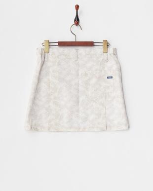 ライトグレー WOMEN'S リーフ柄スカートを見る