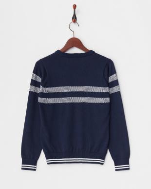 ネイビー WOMEN'S Vネックセーターを見る
