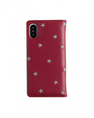 RED STAR EMBROIDERYケース(iPhoneXS/X対応)見る
