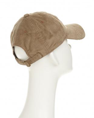 モカ FARON and SNOOPY CORDUROY BB CAP(ファロン&スヌーピーコーデュロイベースボールキャップ)見る