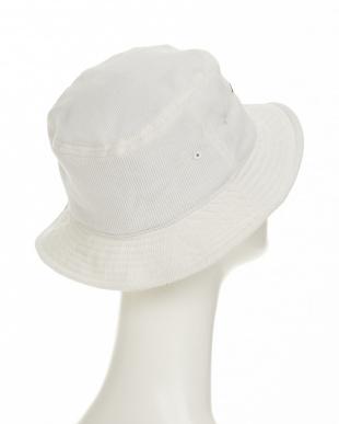 ホワイト RH CORDUROY BUCKET HAT(ラウンドハウス コーデュロイ バケット ハット)見る