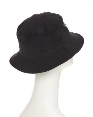 ブラック RH CORDUROY BUCKET HAT(ラウンドハウス コーデュロイ バケット ハット)見る