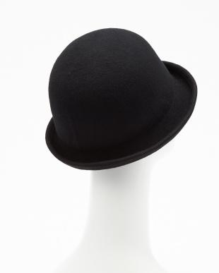 ブラック BOWLER FELT HAT(ボーラー フェルト ハット)見る