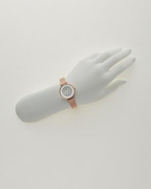 ピンク ソーラーテック 時計 スター秒針│WOMENを見る