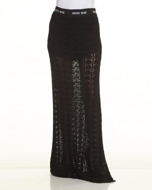 BLACK ニットスカート見る