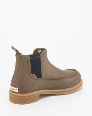 LIGHT KHAKI BROWN M LIGHTWEIGHT MOCK-TOE CHELSEA見る