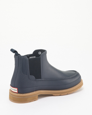 NAVY M LIGHTWEIGHT MOCK-TOE CHELSEA見る