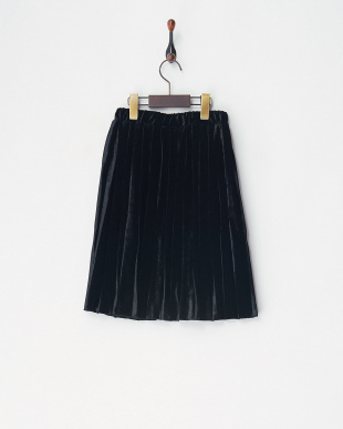 ブラック3 menuet ベロアデザインスカート GIRL見る