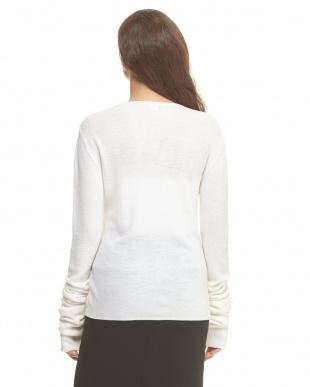 white  ニット・セーター見る