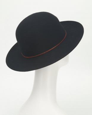 black 帽子見る