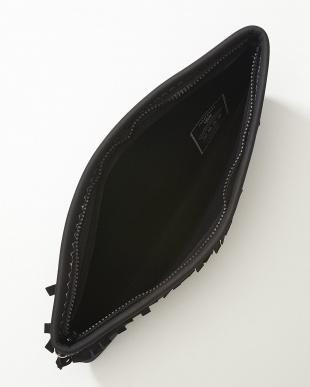 09 ブラック U160LZBG003 BLACKFRINGE クラッチバッグ見る