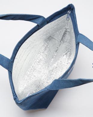 50 ブルー T155ORBG011 THE MART DENIM TOTE BAG (L)見る