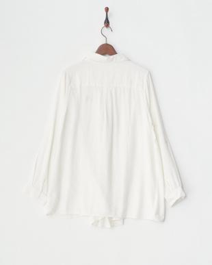 オフホワイト 4WAYチェックシャツ WOMEN見る