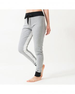 heather gray inside line stretch jogger pants見る