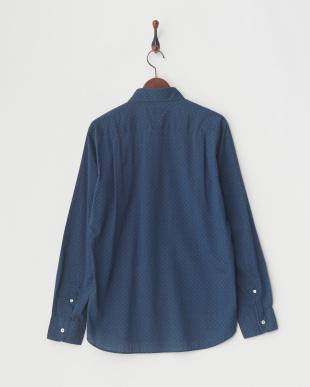ブルー  インディゴドビ-シャツ|MEN見る