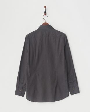 ブラウン(ペイズリー) ブラウンデラベダメージプリントシャツ|MEN見る