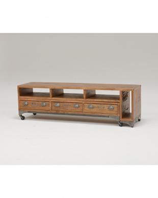 伸縮式リビングボード 150~274×37×45cm見る