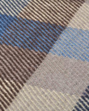ブルー インド綿ウール混ボンディングマット メルモを見る