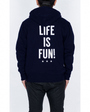 ネイビー LIFE IS FUN! PARKER/NVを見る