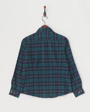 グリーン [吸汗速乾] TSブロディチェックシャツ│WOMENを見る