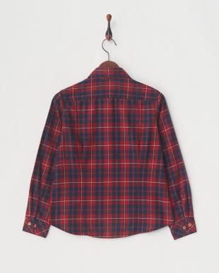 レッド [吸汗速乾] TSブロディチェックシャツ│WOMEN見る