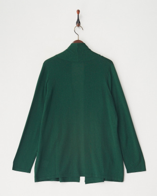 DARK GREEN Knitted Jacket見る