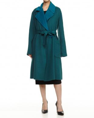 green CAMELIA Coat見る