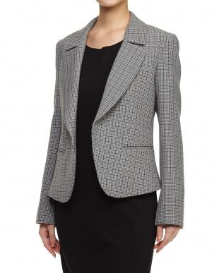 medium grey pattern CENNO Jacket見る