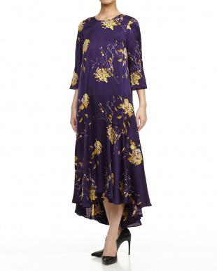 purple pattern PENISOLA Dressを見る