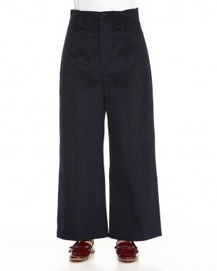 navy blue DIRITTO pants見る