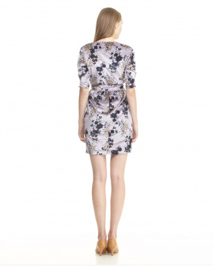 lilac pattern PRIMULA Dressを見る
