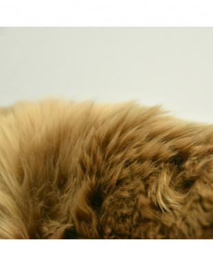 ブラウン  長毛ムートンラグ 10匹 220×170cm見る