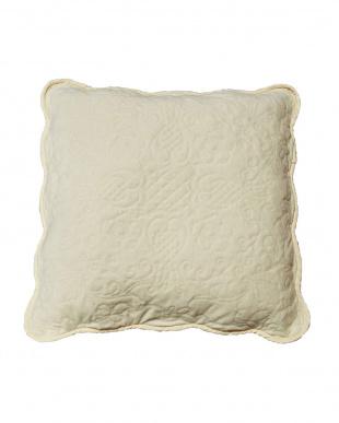 アイボリー タオル素材でさらさら綿パイルクッションカバー2枚組 45×45cmを見る