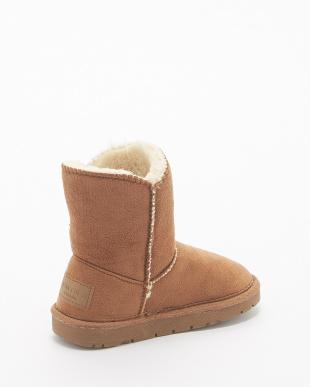 BEIGE B:トグルムートンBT17F ブーツ KIDS見る