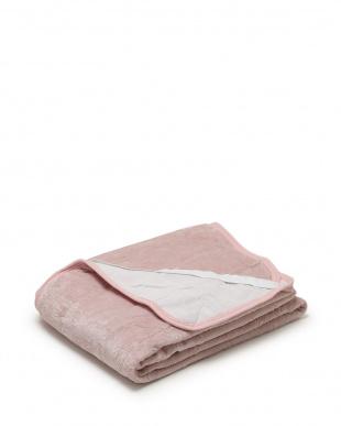 ピンク  ヒートウォーム発熱あったか敷きパッド シングル見る