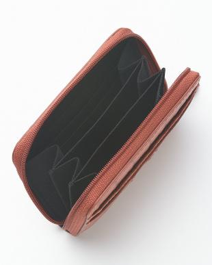 GEBERA.M  カイマンワニ革&牛革クロコ型押しコンパクト財布見る