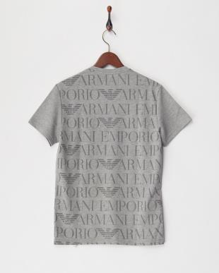 グレー ルームウエアー バックプリントTシャツを見る