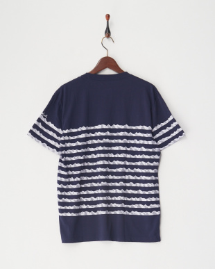ネイビー Mens Mountain Basque Tee│MEN見る