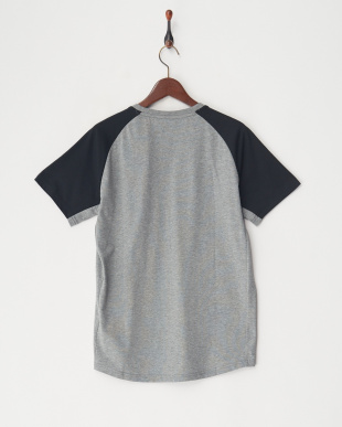 MEDIUM GRAY HEATHER EVOSTRIPE SS Tシャツ見る