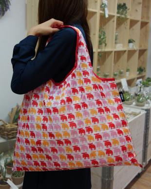 ピンク/オレンジ  moz ショッピングバッグ見る