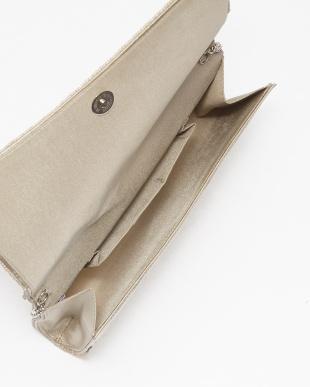 BEIGE 幾何学デザイン2WAYビーズバッグ見る