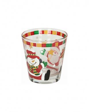 グラス(S) 3個セット クリスマス見る