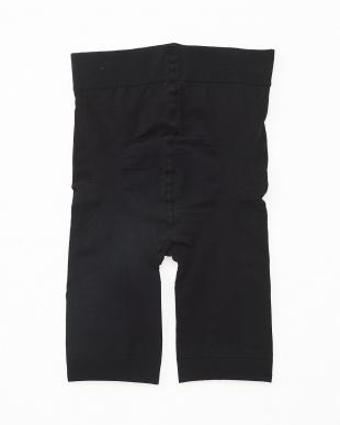 ブラック  PrettyWalker レギュラーフィット3分丈パンツ 2枚セット見る