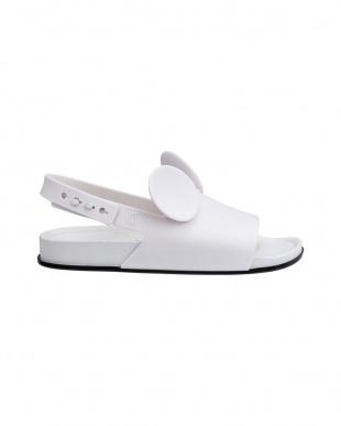 ホワイト Beach Slide Sandal + Disney見る