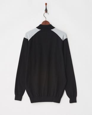 Black / Silver Marl Troy Sweater見る