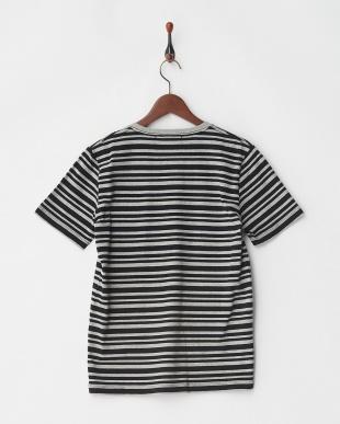 パターン4 先染めグラデボーダーTシャツを見る
